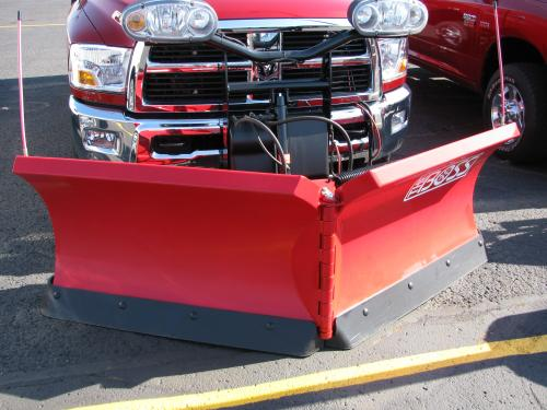 Commercial or residential plowing available
