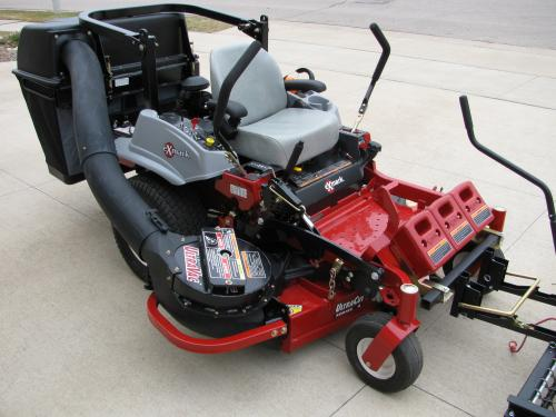 Example-UltraVac system for spring/fall clean-up is available
